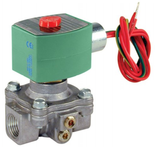ASCO Power Technologies 8214G030 8214 Series: Gas Shutoff Valves, Watertight -