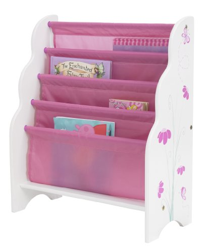 HelloHome Butterflies and Flowers Kids' Bookcase