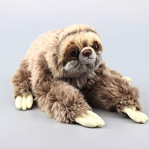 - uiuoutoy Three Toed Sloth Plush Realistic Simulated Wild Animal Toy 13''