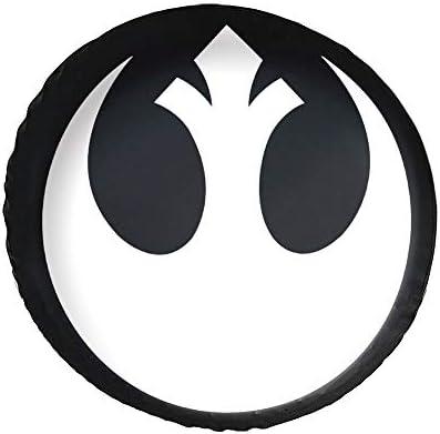 Star Wars Rebel Alliance タイヤカバー タイヤ保管カバー 収納 防水 雨よけカバー 普通車・ミニバン用 防塵 保管 保存 日焼け止め 径83cm