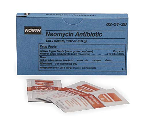 North Antibiotic, 0.9g Foil Pack - 020126, (Pack of 20)