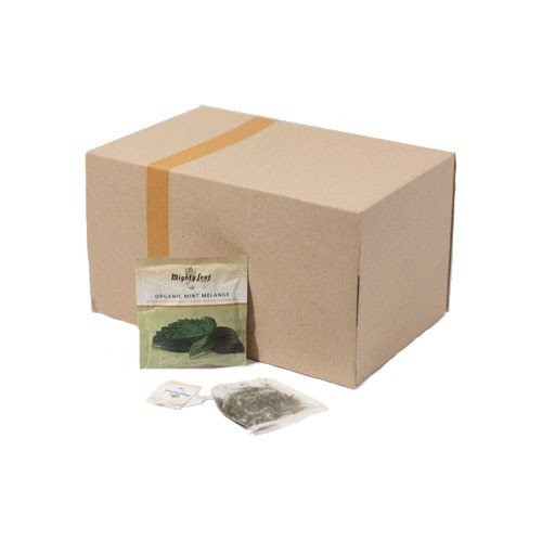 Mighty Leaf Organic Mint Melange Tea, 100 Tea Pouches