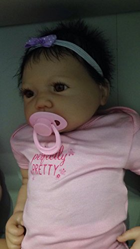 Amazon.es: Reborn Baby Girl Muñeca, Heavy, 20 cm de largo ...