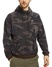 Navifalcon Men's Pullover Hooded Sweatshirt