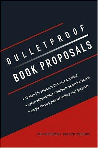 Read Online Bulletproof Book Proposals pdf