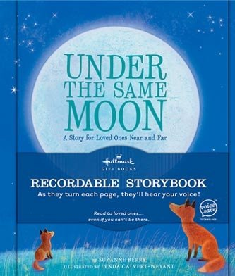 Hallmark Recordable Storybook KOB1098 Under The Same Moon
