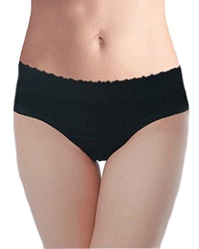DODOING Women's Sexy Push up Seamless Butt Lift Hip Enhancing Padded Panties