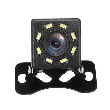 8 LED Night Vision 170 Car Rear View