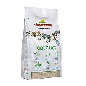 almo nature Arena Gatos Aglomerante Cat Litter 5 LB (2,27 kg). Tierra para Gatos Absorbente Antiolor. Arena…