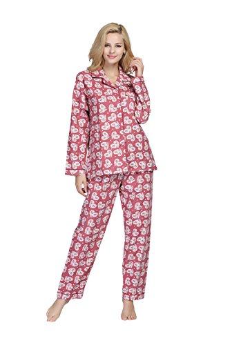 Womens 100% Cotton Flannel - 2