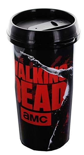 Walking Dead Travel Mug with Full Color Rick Image, 16 oz