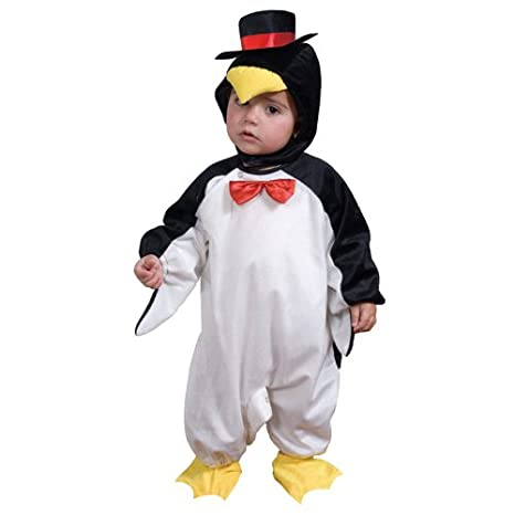 arte squisita migliore selezione di stile di moda del 2019 Dress Up America - Costume per travestimento da Pinguino, Bambini, 0-12  mesi (69 cm, altezza 74 cm)