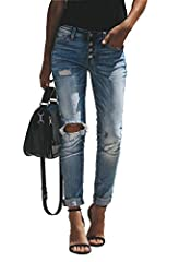 Women's Skinny Jeans Distressed Stretch Curvy Butt Lifting Demin Pants Slim FitSkinny Jeans is fashion, never die. No matter in which year, Jeans is always the fashion mainstream. We specialize in designing, making Jeans. We have professional...