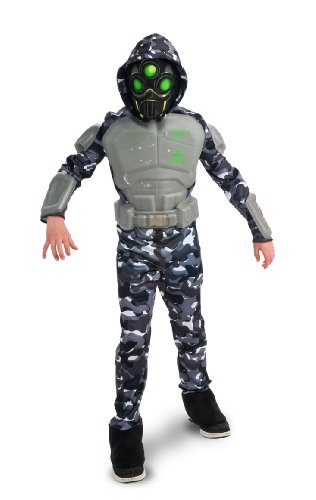 [Rubie's Deluxe SWAT Ninja Costume - Medium (8-10)] (Swat Costumes Kid)