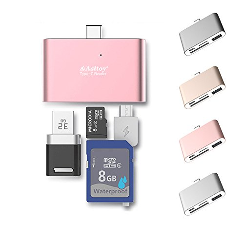 Asltoy Adapter Function Chromebook Rosegold