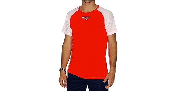 CARTRI - Camiseta/H Coach 2.0 Red/White: Amazon.es: Deportes ...