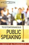 img - for Brief Guide to Extemporaneous Public Speaking book / textbook / text book
