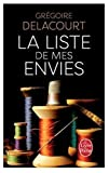 by g delacourt la liste de mes envies french edition mass market paperback