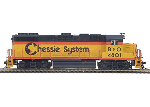 MTH 85-2042-0 HO Chessie System B&O GP38-2 Diesel Engine (DCC Ready) #