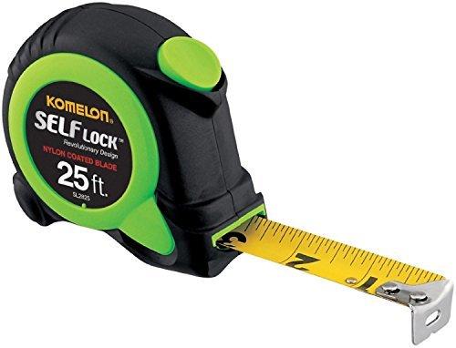 Komelon SL2825 2 Pack 25ft. Self Lock Tape Measure