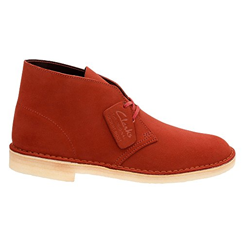 Clarks Originali Mens Desert Boot In Terracotta