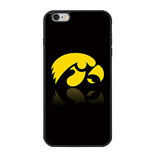 "6SCase.com-16696-Iowa Hawkeyes Iphone 6 Plus Case,Iowa Hawkeyes Case Cover for Iphone 6/6s Plus TPU Case (5.5"")-B01FF9407Y"