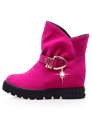 Zapatos Cn35 Vestido Redonda 5 Cuña Tacón A Azul Eu36 5 negro Mujer Punta Moda Cuñas Eu37 Uk3 Vellón Xzz Botas Uk3 Pink us6 7 La De Casual 5 Cn37 Uk4 5 5 us5 Beige Botines d8OqwdS