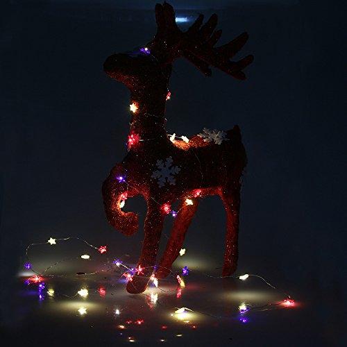 red white led christmas lights