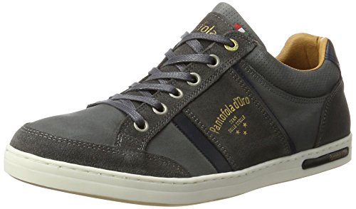 Homme Mondovi Gris Pantofola 7zw d'Oro Uomo Dark Shadow Baskets Low Marron X565rq