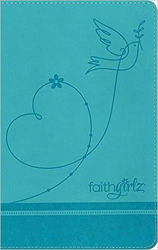 NKJV, Faithgirlz Bible, Leathersoft, Blue: Zondervan, Nancy N  Rue
