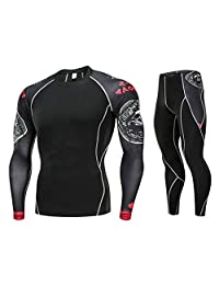 EINCcm Mens Body Shaper, Slimming Long Sleeve Shirt, Workout Sweat Sauna Suit, Best Bodysuit for Weight Loss