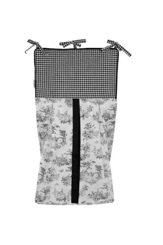 r Stacker, Black (Classic Toile Crib Set)