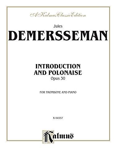 Intro et Polonaise: For Trombone Solo (Kalmus Edition)