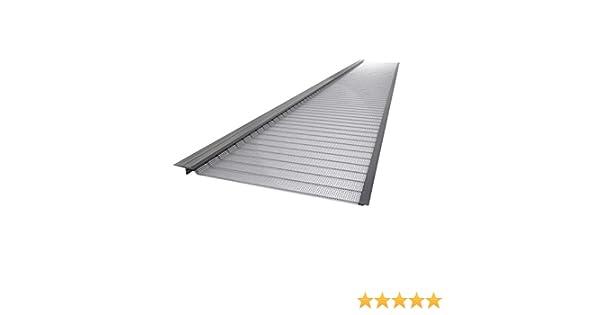 10-Pk 4ft Roof Gutter Guard Stainless Steel 5in Micro-Mesh Rain Debris Filter