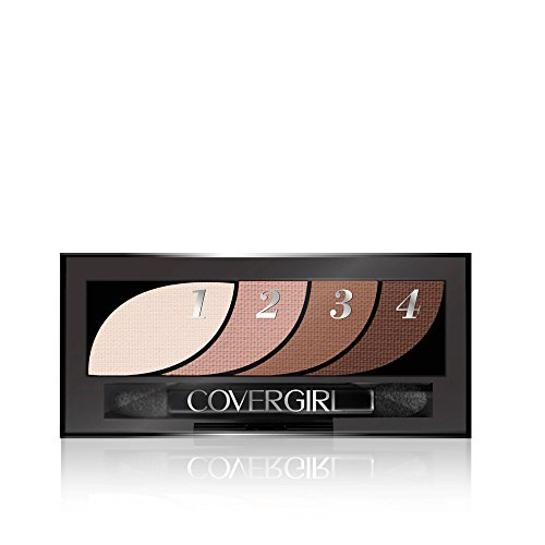 COVERGIRL Eye Shadow Quads Notice Me Nudes 700.06 Ounce