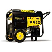 New Champion 9500 watt Gas Portable Gasoline Generator Carb Electric Start