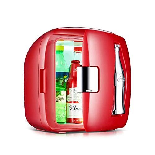 Mini Fridges Appliances 9L Mini Small Refrigerator Household Small Refrigeration Refrigerator car Insulation Refrigerator Student Dormitory Refrigerator (Color : Red, Size : 32.8 32.3 34.8cm) (Used 3 Way Caravan Fridge For Sale)