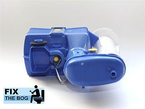 Dudley Turbo 88 sifone per scarico del WC in due parti kit per riparazioni 18 cm