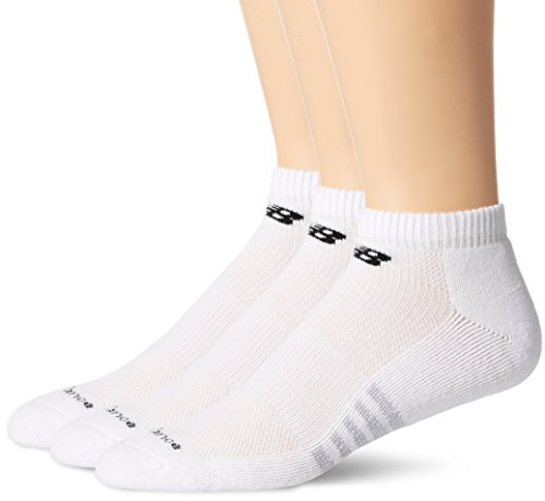 New Balance Men's Core Cotton Low Cut 6 Pack Socks