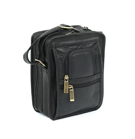 Claire Chase Ultimate Man Bag, Black, One Size - Claire Chase Leather Messenger