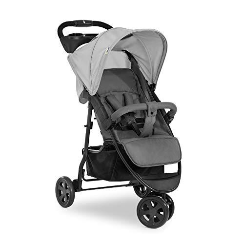 Hauck Citi Neo 3 de hasta 25 kg, silla de paseo, respaldo reclinable desde el nacimiento, plegado pequeño, plegar con una sola mano, 3 ruedas, ultraligero - solo 7,5 kg, portavasos - gris (311271) a buen precio