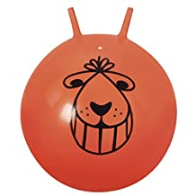 Space Hopper Ball - Retro Orange Bouncing Ride-on Ball (colors may vary) by Ball Bounce & Sport