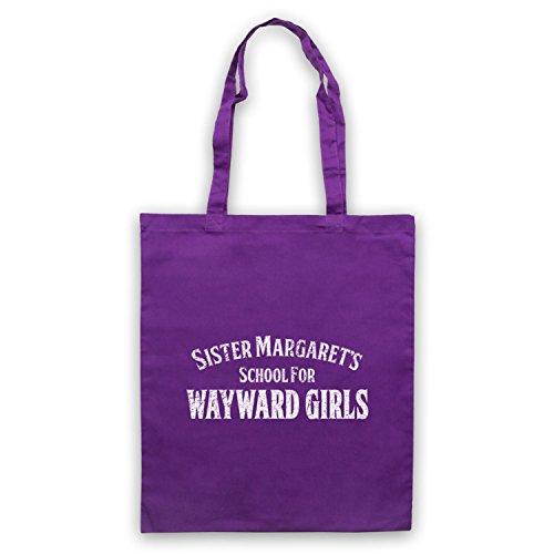 Deadpool Sister Margaret's School For Wayward Girls Bolso Morado