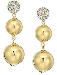 Flying Colors Pave Bauble Earrings