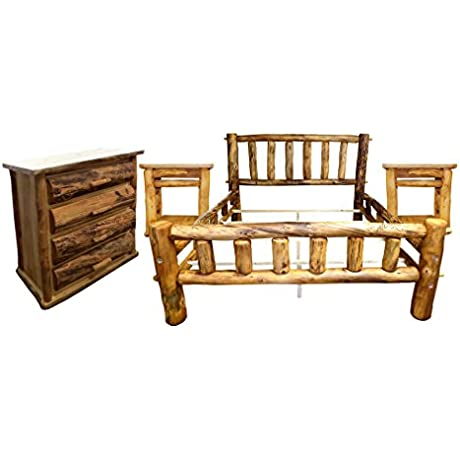Mountain Woods Furniture Q Plateaupkg Q Aspen Heirloom Plateau Bedroom Set Queen Beeswax Linseed Oil