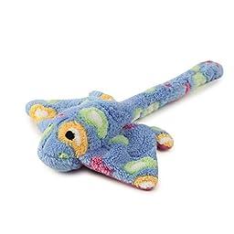 Zanies Sea Charmer Dog Toys, Blue Stingray, 11\