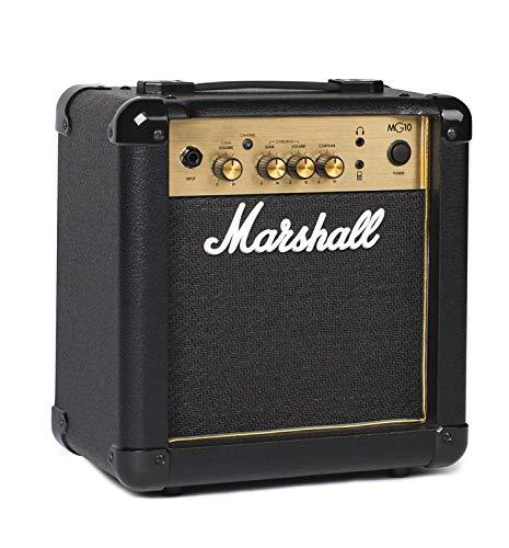 - Marshall Amps Guitar Combo Amplifier (M-MG10G-U)
