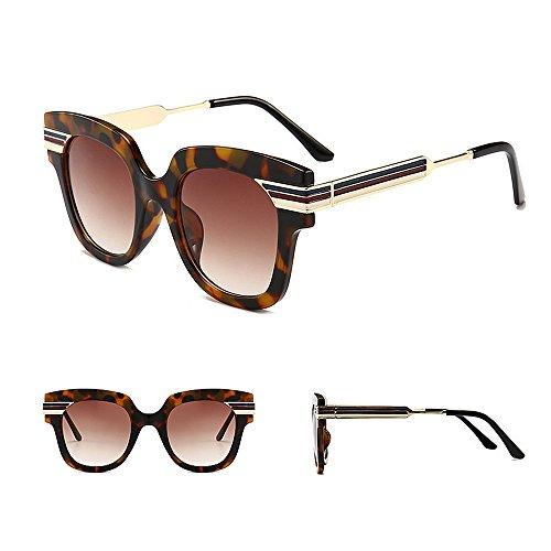 Gafas al de Sol Color C2 extragrandes Colores de Tiras Lente Unisex de C4 Aire con Viajar Gu Conducción Protección Libre UV Color Peggy OxAa0qwXS