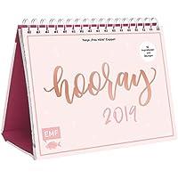 Handlettering Tischkalender 2019 – Hooray: 52 Inspirationen und Übungen