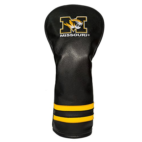 Team Golf NCAA Missouri Tigers Vintage Fairway Golf Club Headcover, Form Fitting Design, Retro Design & Superb Embroidery